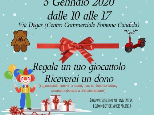 Il 5 Gennaio la Befana a Fontana Candida